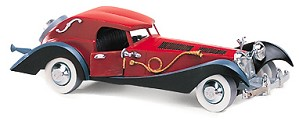 WDCC Disney Classics-101 Dalmatian Cruella Devil's Car Ornament