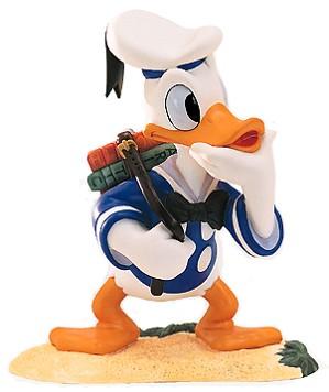 WDCC Disney Classics-Donald Duck Donald's Decision