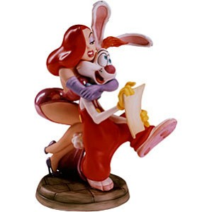 WDCC Disney Classics-Jessica And Roger Rabbit Dear Jessica How Do I Love Thee