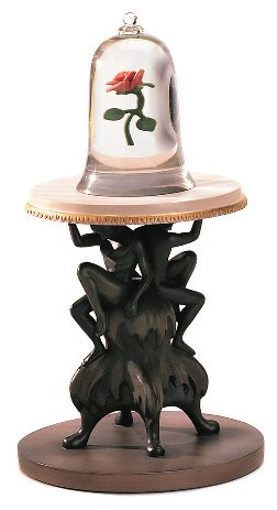 WDCC Disney Classics-Beauty And The Beast The Enchanted Rose Table
