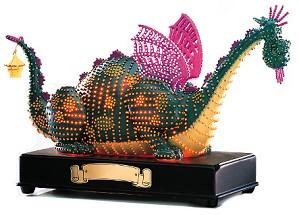 WDCC Disney Classics-Main Street Parade Elliott Petes Dragon