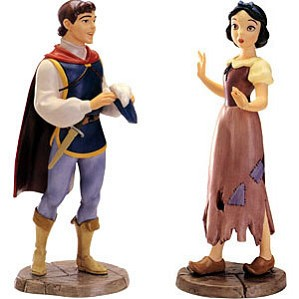 WDCC Disney Classics-Snow White And Prince I'm Wishing For The One I Love