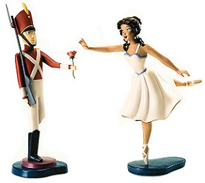 WDCC Disney Classics-Fantasia 2000 Tin Soldier And Ballerina Gift Of Love
