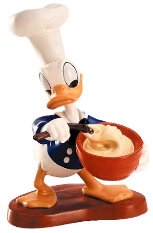 WDCC Disney Classics-Chef Donald Donald Duck Somethings Cooking