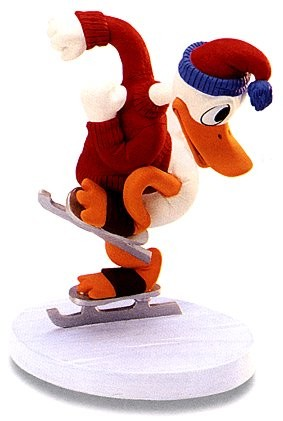 WDCC Disney Classics-On Ice Donald Duck Away We Go