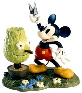 WDCC Disney Classics-Mickey Cuts Up Mickey Mouse A Little Off The Top