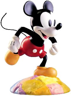 WDCC Disney Classics-Mickey Mouse On Top Of The World