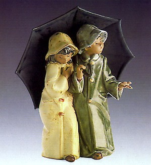 Lladro-Under The Rain 1978-89