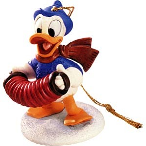 WDCC Disney Classics-Donald Duck Ornament Fa La La Ornament