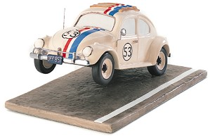 WDCC Disney Classics-The Love Bug Herbie Raring To Race