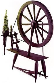 WDCC Disney Classics-Sleeping Beauty Spinning Wheel Spinning An Evil Spell