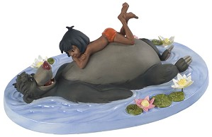 WDCC Disney Classics-The Jungle Book Baloo And Mowgli Jungle Harmony