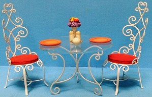 WDCC Disney Classics-Mary Poppins Table and Chairs Accessory Set A Magical Setting