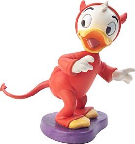 WDCC Disney Classics-Trick Or Treat Nephew Duck Lil Devil