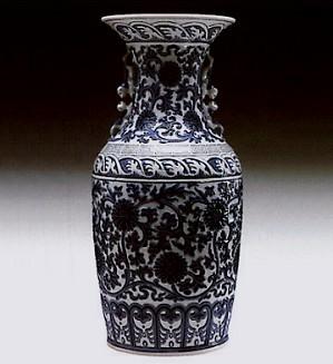 Lladro-Pekinese Vase 1972-81