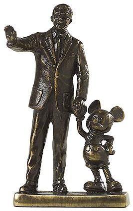 WDCC Disney Classics-Partners Walt Disney And Mickey Mouse