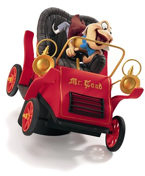 WDCC Disney Classics-Mr Toad Wild Ride