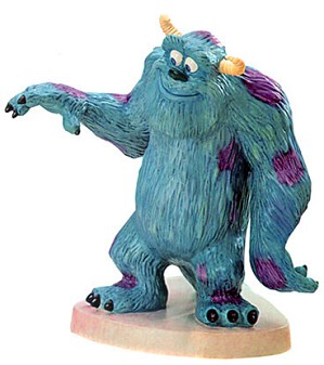 WDCC Disney Classics-Monsters Inc Sulley Good Bye Boo
