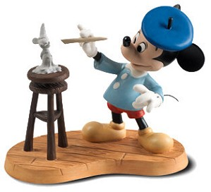 Mickey Sculpting Mickey