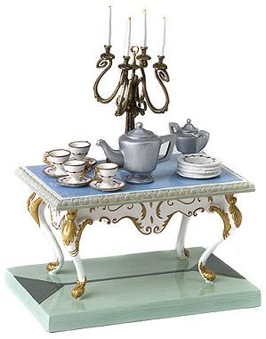 WDCC Disney Classics-Cinderella Table Tea Is Served