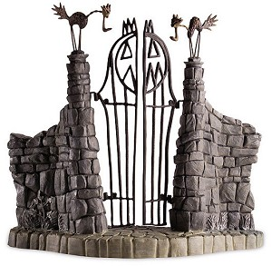 WDCC Disney Classics-The Nightmare Before Christmas Gate Jack Skeletons Gate