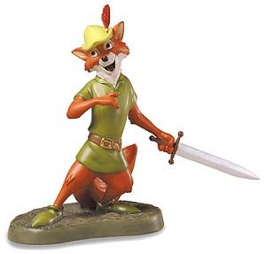 WDCC Disney Classics-Robin Hood Romantic Rogue