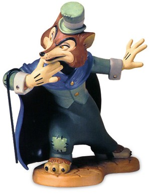 WDCC Disney Classics-Pinocchio J. Worthington Foul Fellow Felonious Fox
