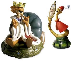WDCC Disney Classics-Robin Hood Prince John & Sir Hiss