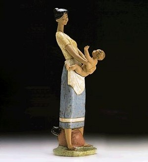 Lladro-Mother and Child 1994-97