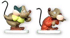 WDCC Disney Classics-Cinderella Gus And Jaq Miniatures One Mouse Or Two