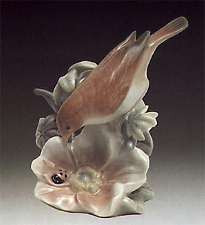 Lladro-Ladybird And Nightingale 1973-81