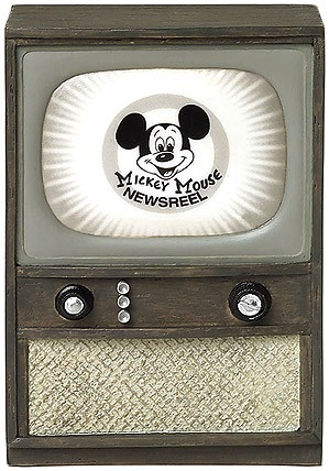 WDCC Disney Classics-Television Mickey Mouse Newsreel