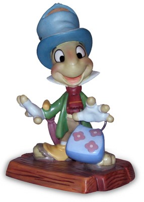 WDCC Disney Classics-Pinocchio Jiminy Cricket I Made Myself At Home