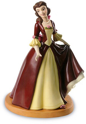 WDCC Disney Classics-Beauty And The Beast Belle The Gift Of Love