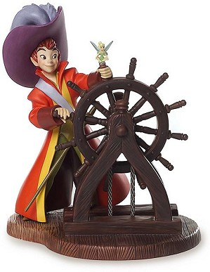 WDCC Disney Classics-Peter Pan Peter Pan Hooray For Captain Pan