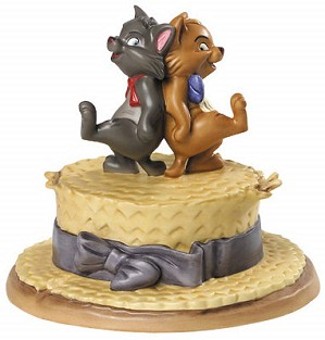 WDCC Disney Classics-The Aristocats Berlioz And Toulouse Kickin Kittens