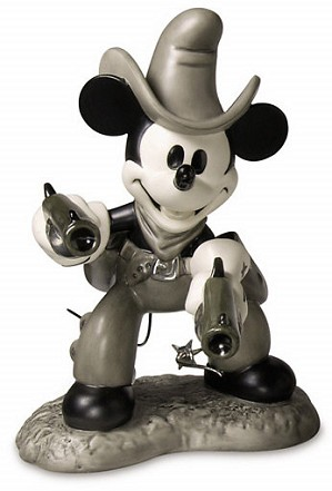 WDCC Disney Classics-Two Gun Mickey Mouse Quick Draw Cowboy