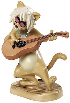 WDCC Disney Classics-The Aristocats English Cat Groovy Cat