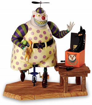 WDCC Disney Classics-The Nightmare Before Christmas Clown With Tear Away Face A Frightful Sight