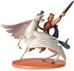 WDCC Disney Classics-Hercules And Pegasus Defiant