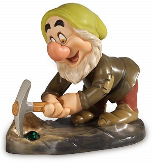 WDCC Disney Classics-Snow White Sneezy To Get Rich Quick
