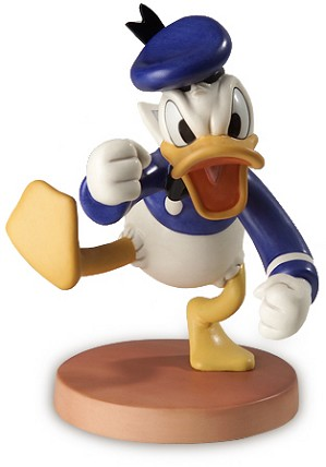 WDCC Disney Classics-Orphans Benefit Donald Duck
