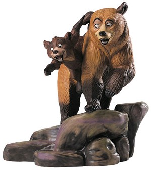 WDCC Disney Classics- Brother Bear Kenai And Koda Brotherly Time