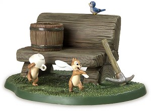 WDCC Disney Classics-Dwarf's Cottage Bench