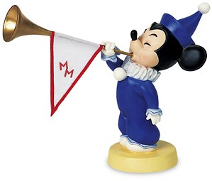 WDCC Disney Classics-Mickey Mouse Club Mickey's Nephews Sounds The Trumpets