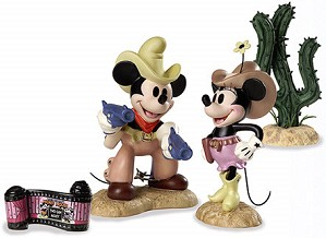WDCC Disney Classics-Two Gun Mickey Color Set