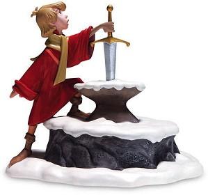 WDCC Disney Classics-The Sword In The Stone Arthur Seizing Destiny