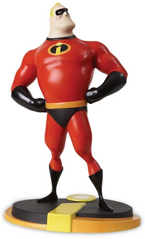 WDCC Disney Classics-Mr Incredible Evil Has Met Its Match