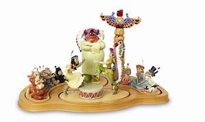 WDCC Disney Classics-Peter Pan Fireside Celebration