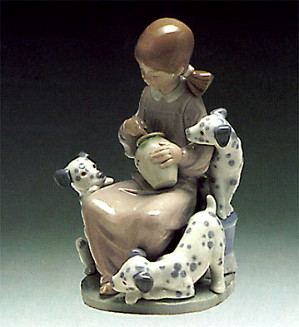 Lladro-The Sweet-Mouthed 1974-90